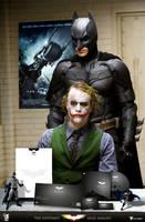 batman corporate identity by operadevil69