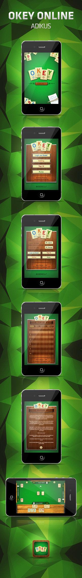 Okey Online- iPhone by operadevil69