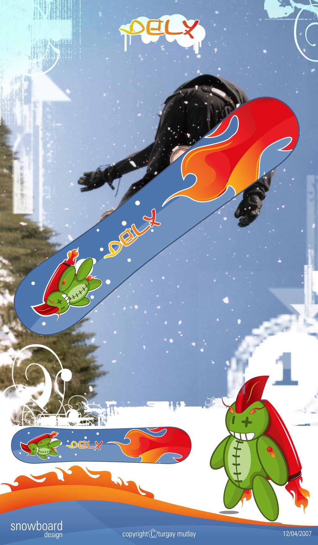 snowboard design-2 by operadevil69