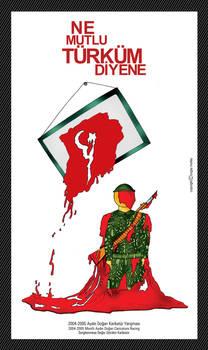 Turk soldier caricature