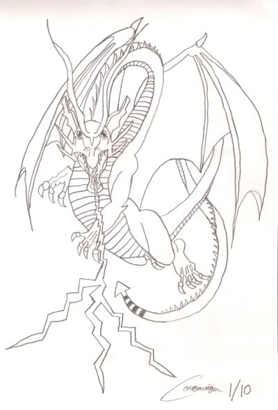 Lightning Dragon by cougartiger on DeviantArt