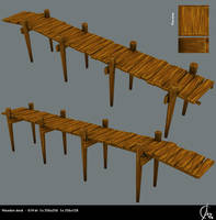Wooden dock by Arakihc