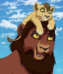 Kovu and Koda