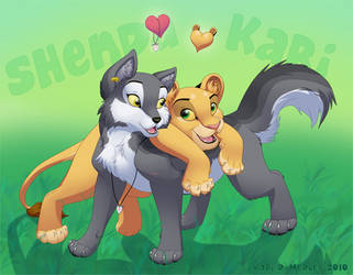 Shenda and Kari by dukacia