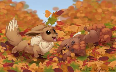 Autumn Fun by dukacia