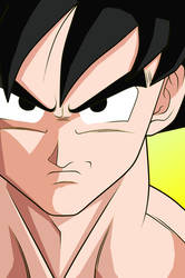 Goku again by mastertobi