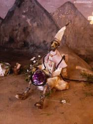 Tori,  the traveler elf - goblin - OOAK doll by terratundra