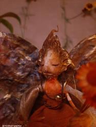 OOAK Artdoll - KULA, the Fire Fairy ~ art doll by terratundra