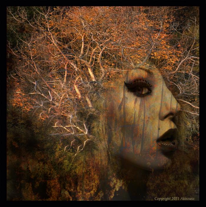 Forest girl by akiszusz