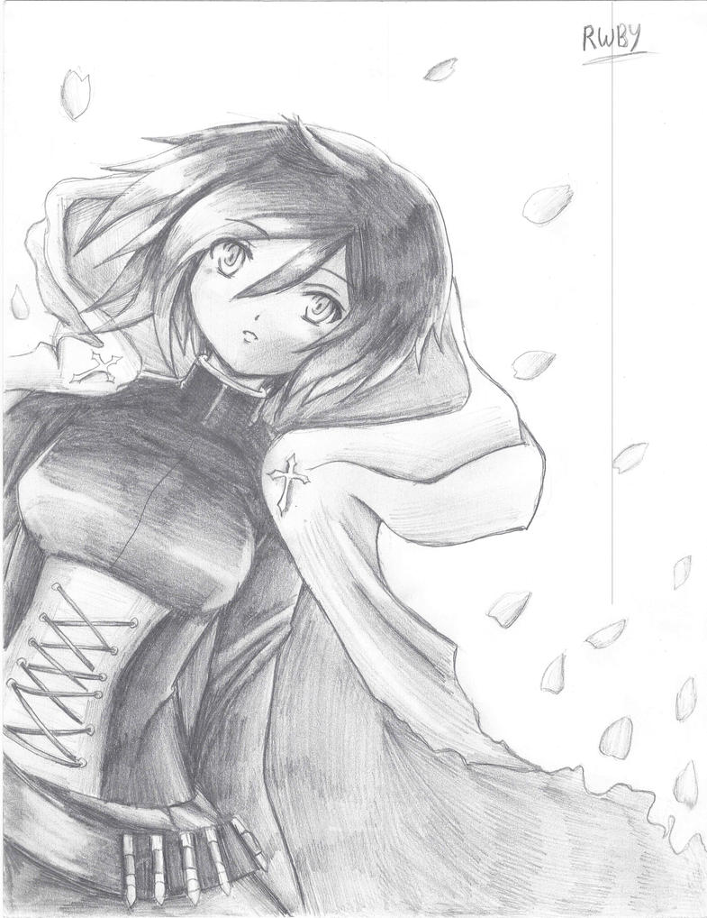 Ruby Rose sketch by PoI-Frontier