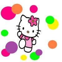 Hello Kitty Polka Dot Background/wallpaper by alishajenkinsx