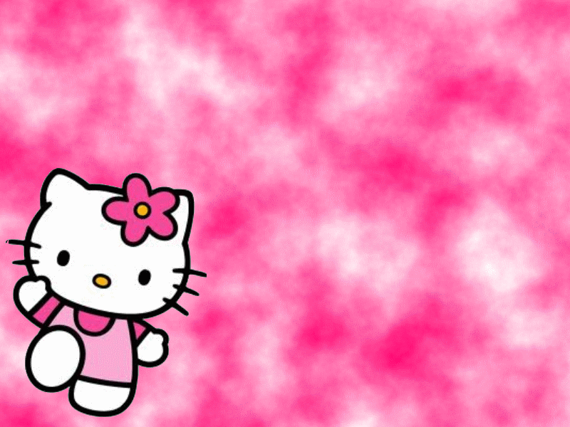 Wallpapers Fre Pink Background Hello Kitty Wallpaper