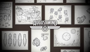 AugustWind Title screen