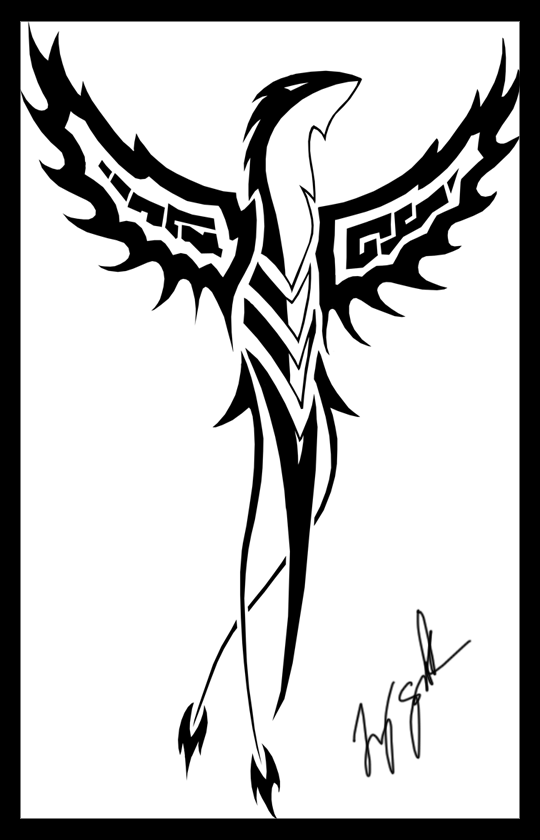 Phoenix Tattoo by Ryuworks on deviantART