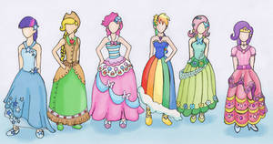 Mlp At The Gala Outfits Color