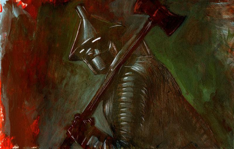 Tin Man by clayrodery