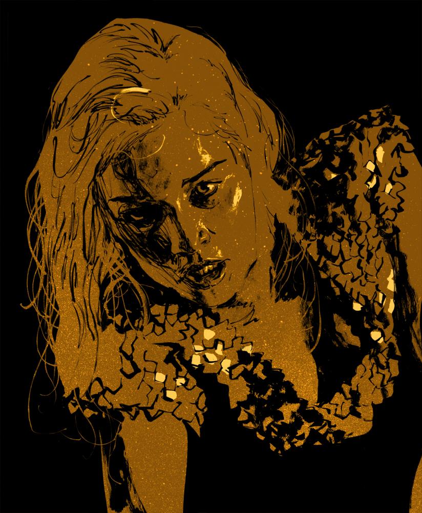 Daenerys Targaryen by clayrodery