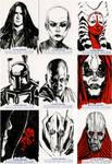 Star Wars Sketch Cards - Prequel II