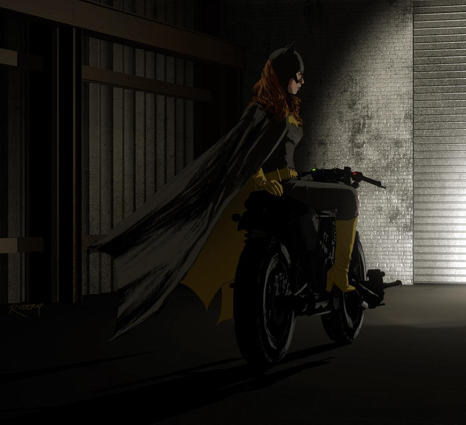 Batcyclist by clayrodery
