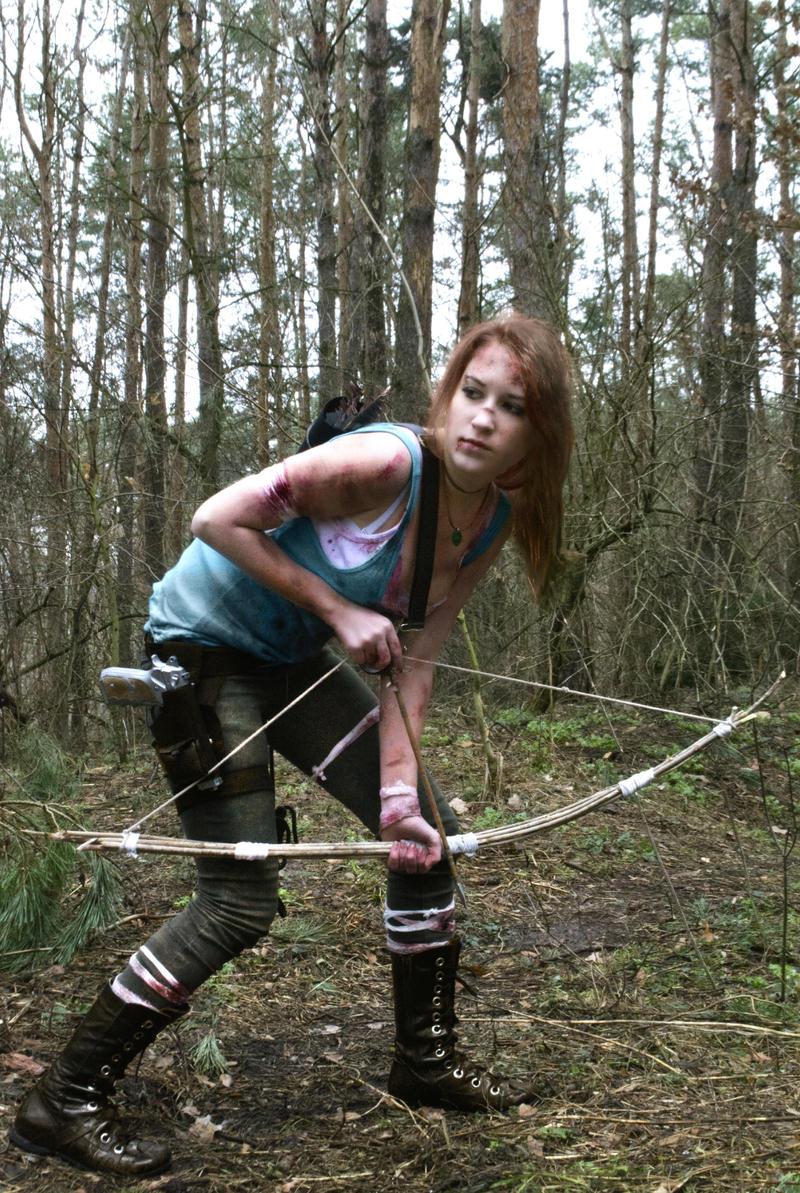 Lara Croft reborn by AlenLav