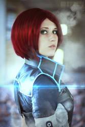Commander Shepard by AlenLav