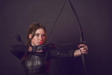 Katniss by AlenLav