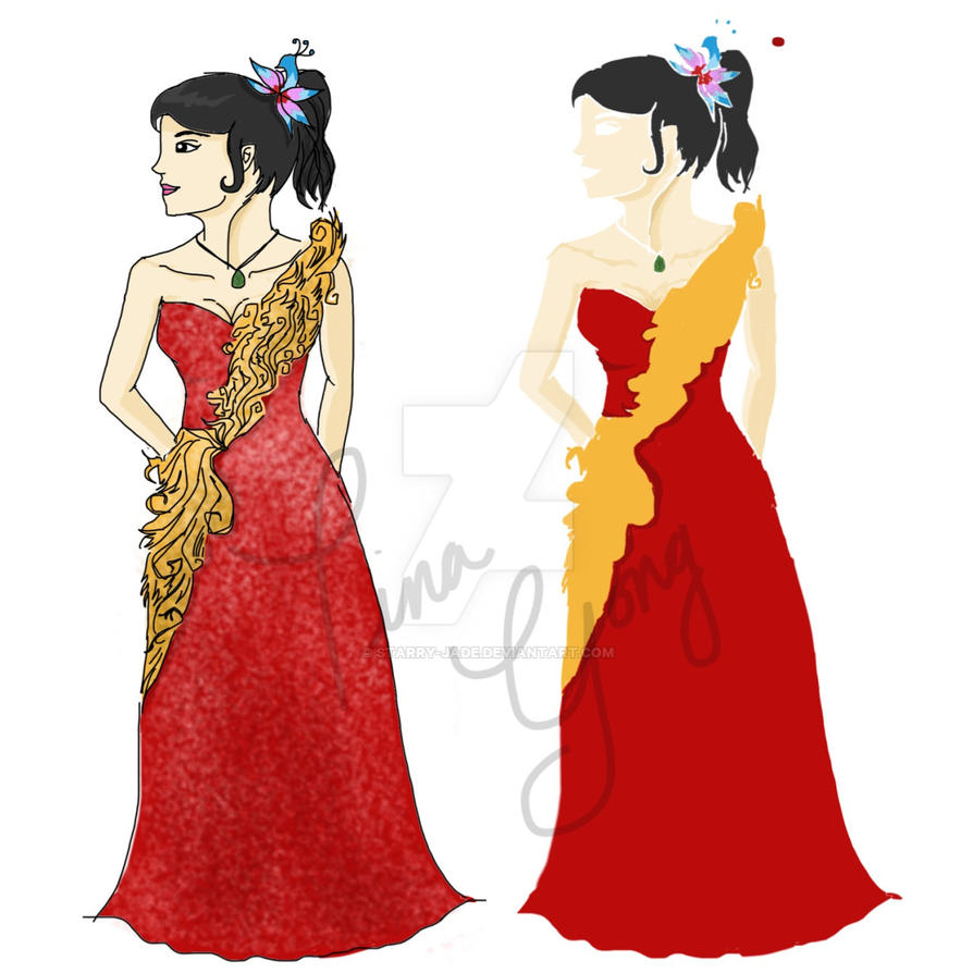 Aph Beijing in Chinese Gown by starry-jade on DeviantArt
