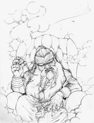 Sketch Kagesim by RoterTee