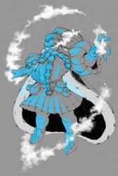 Dwarven sorcerer by RoterTee