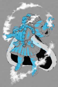 Dwarven sorcerer