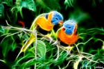 Nature Love - Fractal Wallpaper