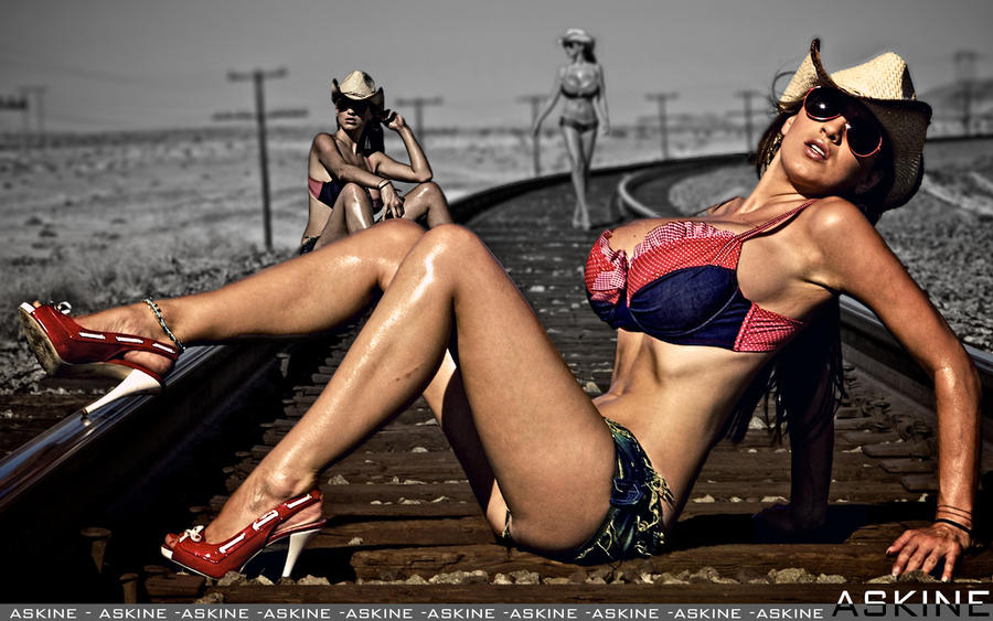 Jordan Carver - CowGirl by askine