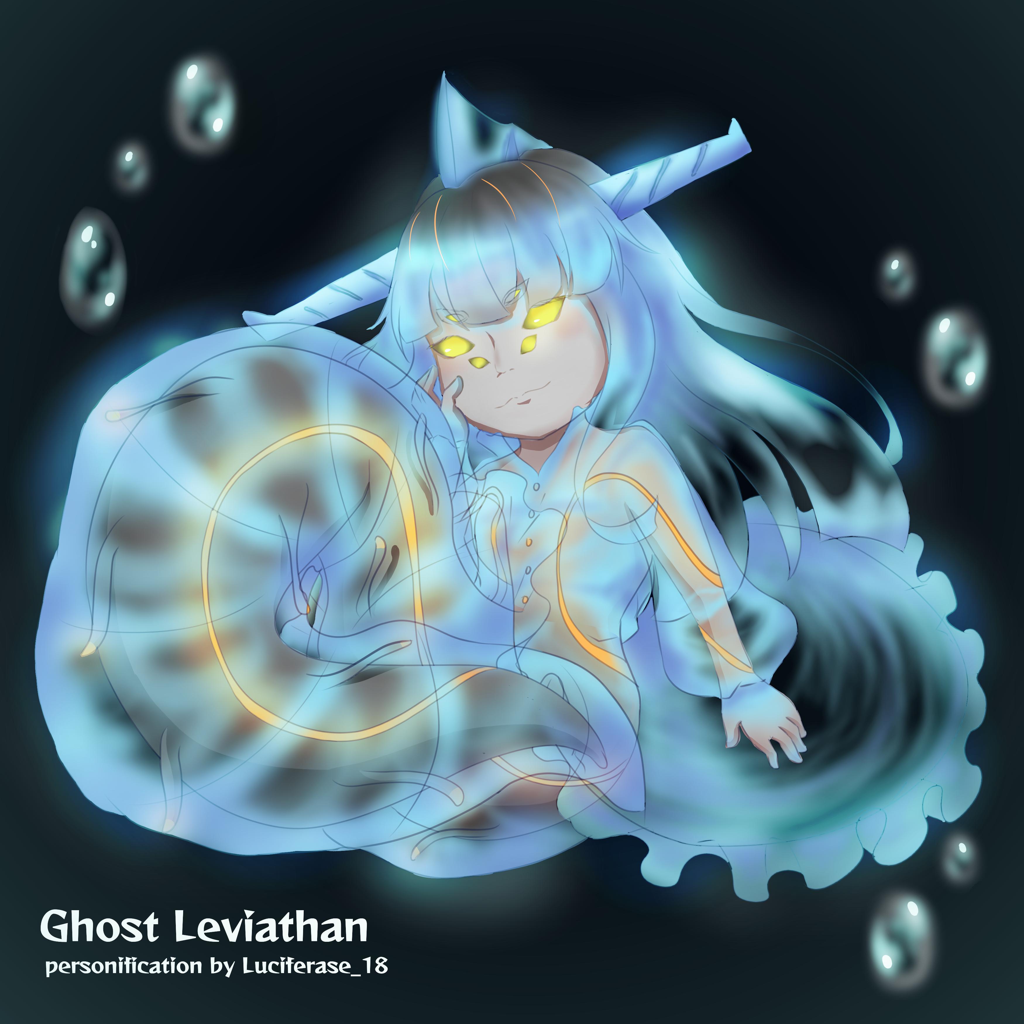 Subnautica] Ghost Leviathan chibi by DebiruHaato on DeviantArt