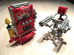 Lego TF2 Sentry and Dispenser
