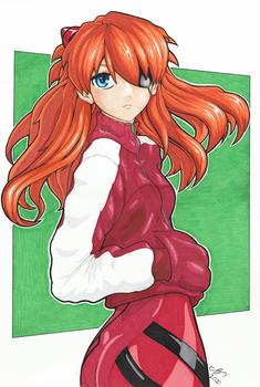 Asuka - Evangelion