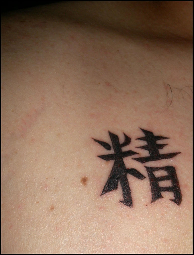 tattoo top right chest - chest tattoo