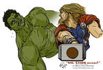 The Incredible Hulk vs The Mighty Thor