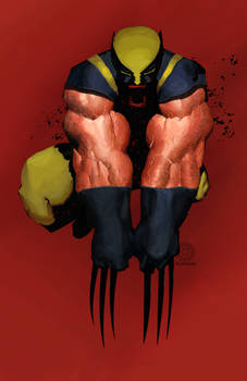 Wolverine Painted