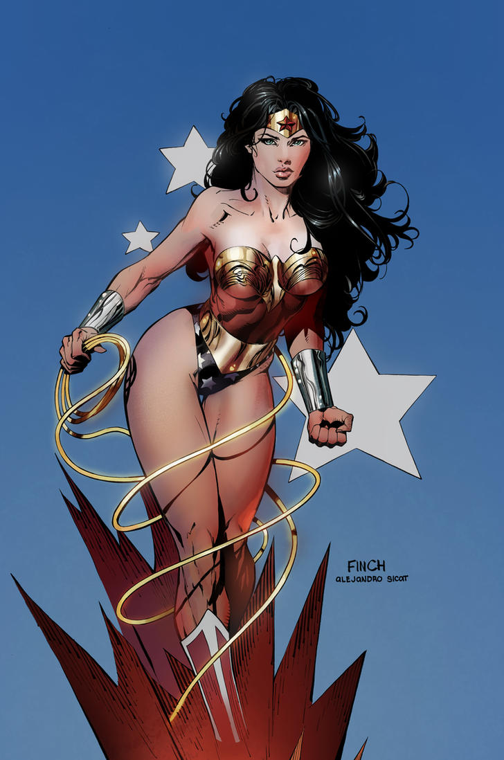 Wonder Woman by CMGfx