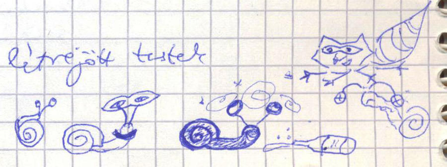 Drunken snail by getupp