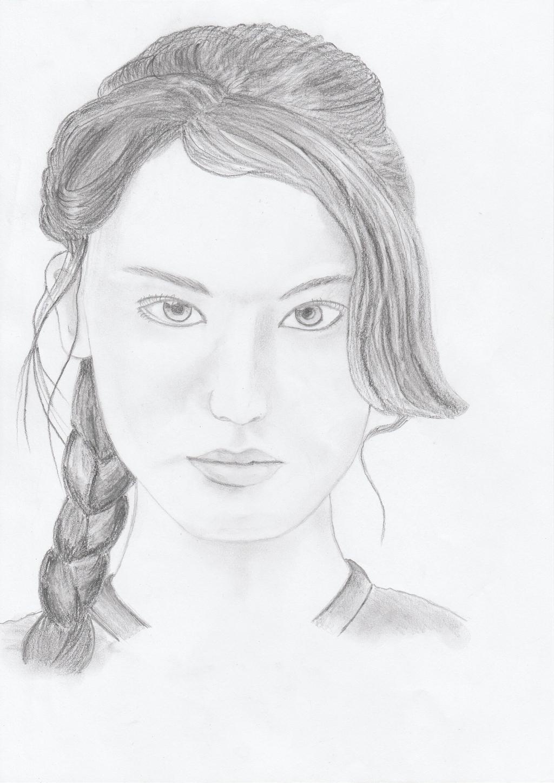 Katniss Everdeen by getupp