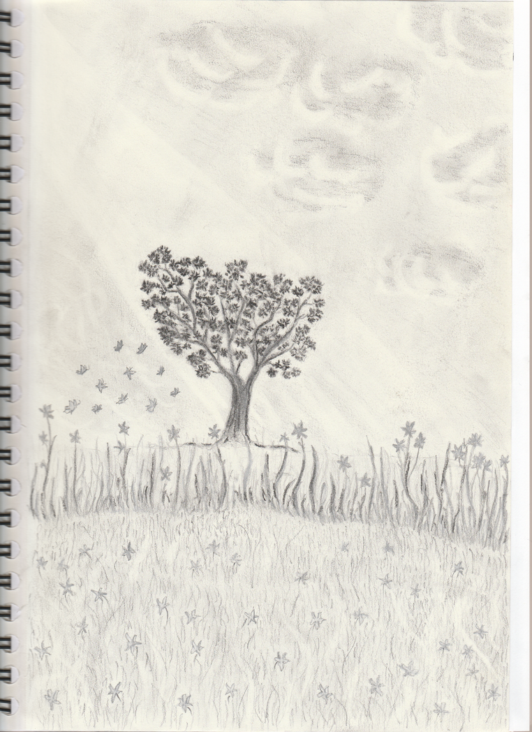 Lonely tree by getupp