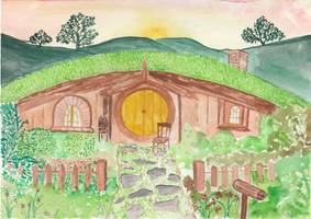 Hobbit house by getupp