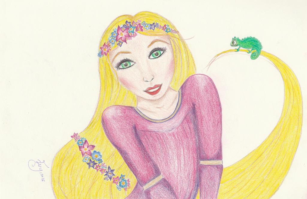 Fable series: Rapunzel by getupp