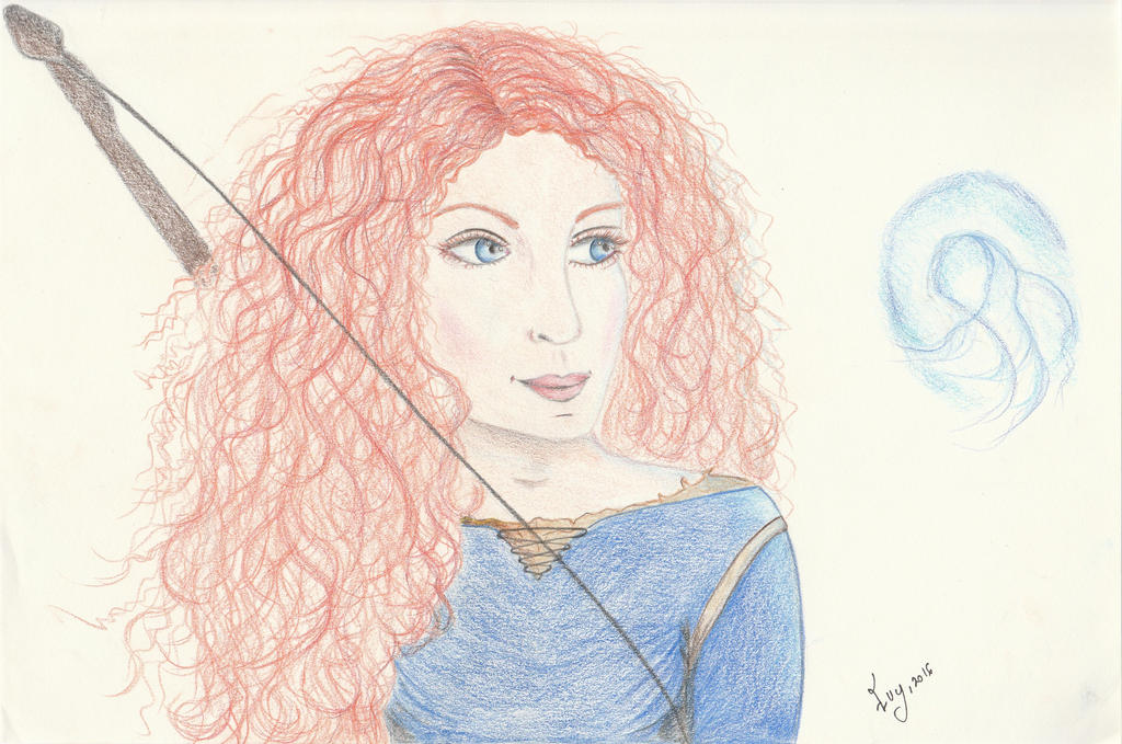 Fable series: Merida the Brave by getupp