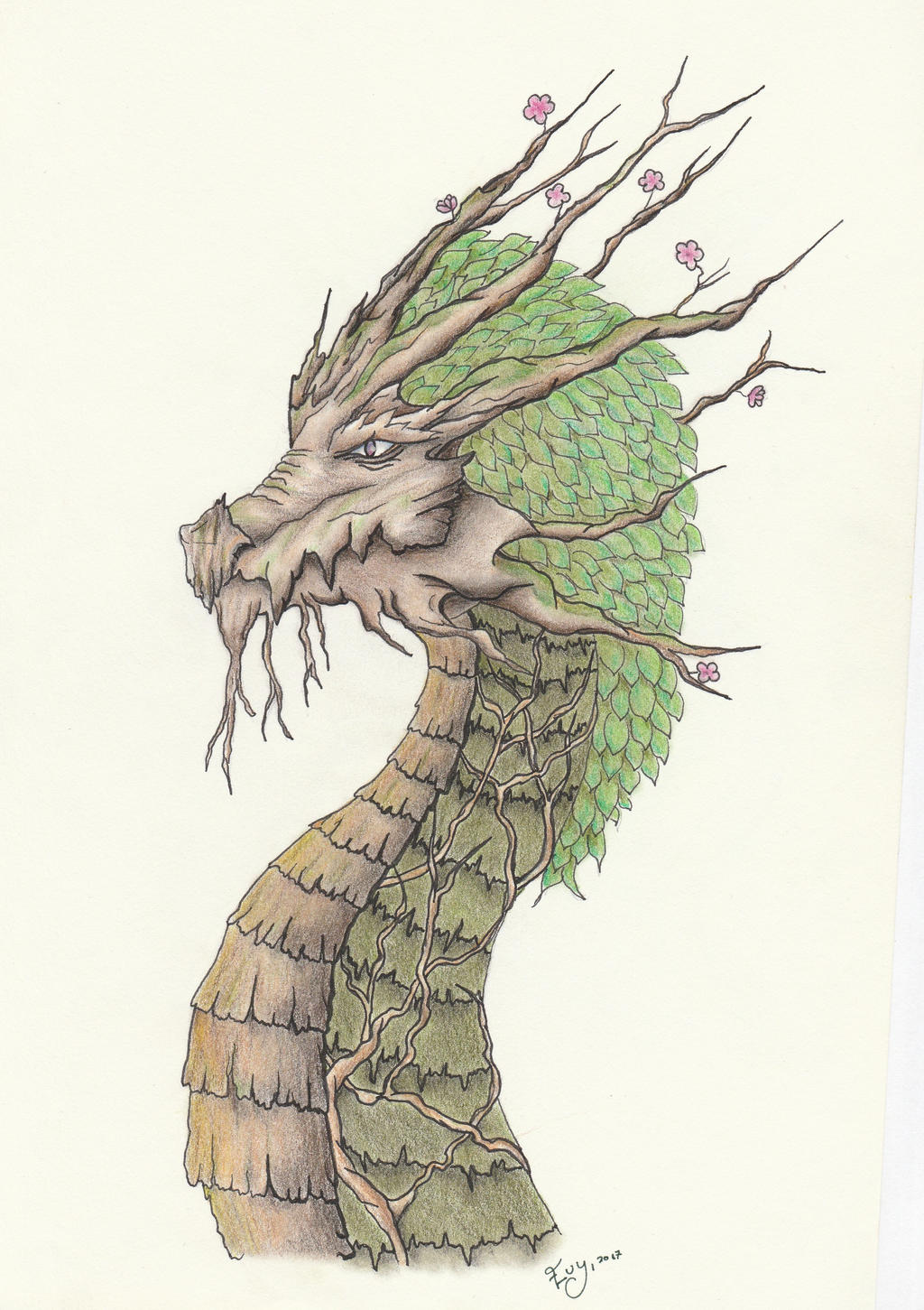 Nature Dragon by getupp