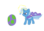 Trixie does something magical