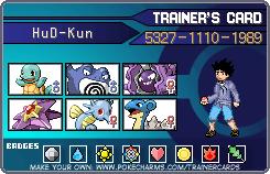 HuD Trainer Card by HuD-Kun