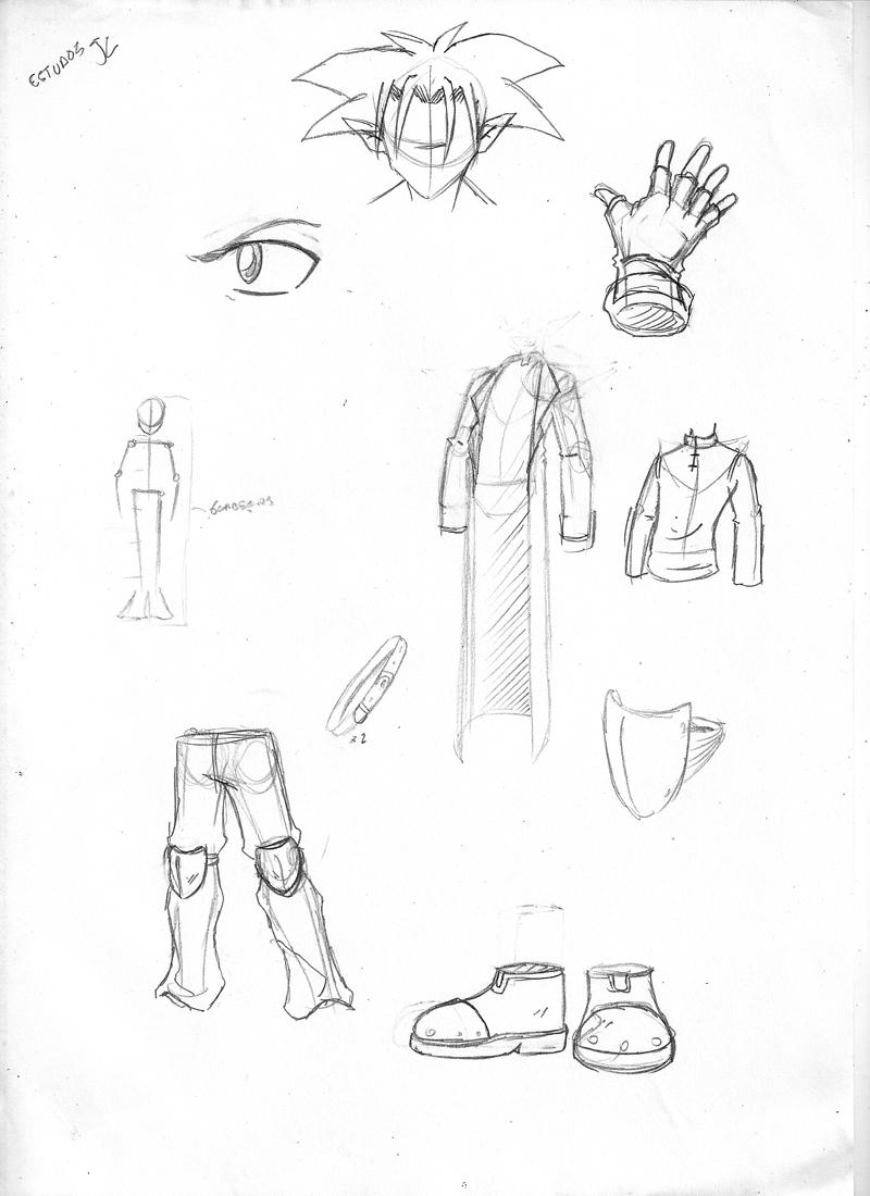 JC 003 model sheet 2009 by HuD-Kun
