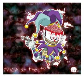 Trick or Treat? by HuD-Kun